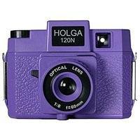 Holga Holgawood Series 120N Medium Format Fixed Focus Camera with Lens -
