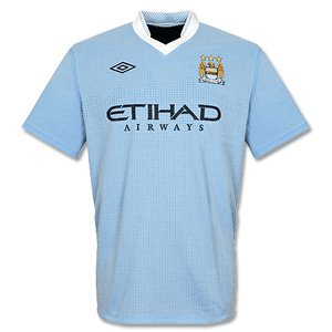 2011-12 Manchester City Home Umbro Football Shirt
