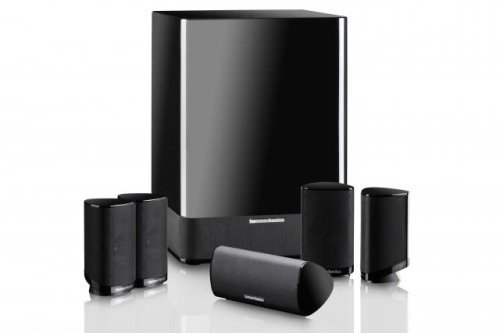 Harman Kardon HKTS-7BQ - 5.1 Cinema Speaker System in Black