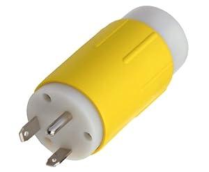 Conntek RL14109 RV 30-Amp Plug TT-30P to NEMA 14-50R 50-Amp 125/250V Adapter