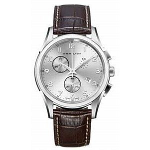 Hamilton Men's H38612553 Jazzmaster Silver Dial Watch by Hamilton