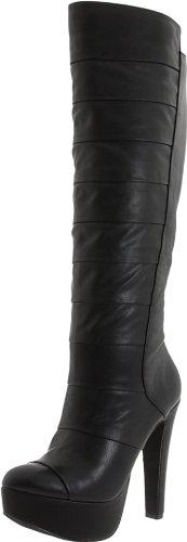 Jessica Simpson Women'S Js-Aura Knee-High Boot,Black Noble,8.5 M Us