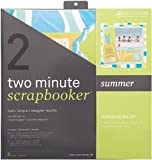 IMAGE OF Two Minute Scrapbooker 12 Inch x12 Inch Page Kit - Summer
