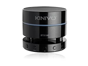 Kinivo BTX180 Wireless Bluetooth Mini Portable Speaker - Bass Boost and Multi-Point Connectivity
