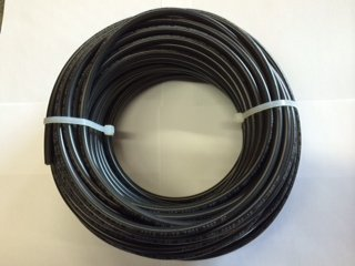 50' solar cable Bulk Black #10 AWG 1000 volt PV Wire with XLPE insulation