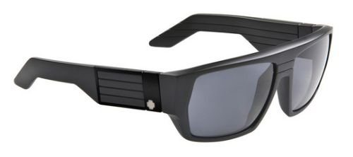 Spy Blok Sunglasses In Matte Black-Grey