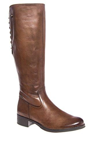 Siena Mid Calf Low Heel Boot