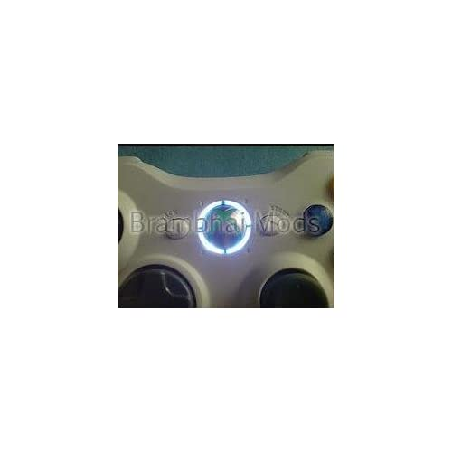 Xbox 360 Controller LED Ring of Light MOD   Wireless and Wired   Core