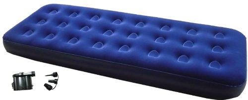 Zaltana Single Size Air mattress with DC Air Pump