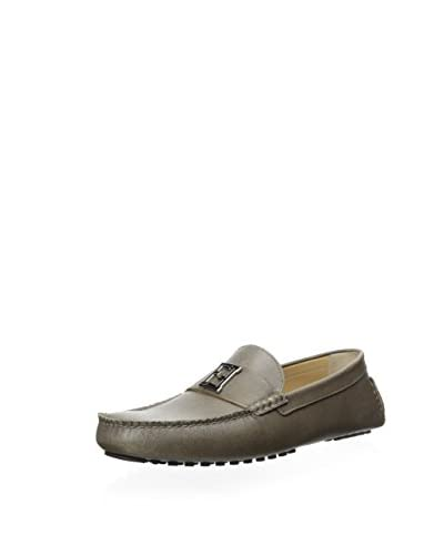 Fendi Men's Banded Moc Toe Driver