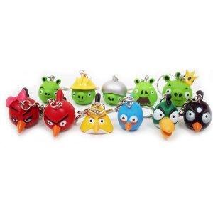 Angry Birds アングリーバード ALLキャラクター キーチェーン 12ピース Set