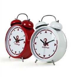Mute Movement Double Bell Night Light Alarm Clock front-139204