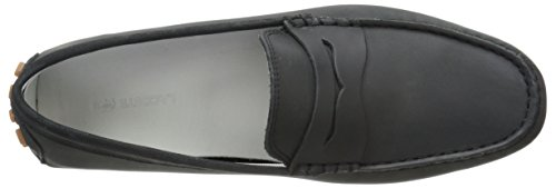 Lacoste Men's Concours 216 1 Slip-On Loafer, Black, 9 M US