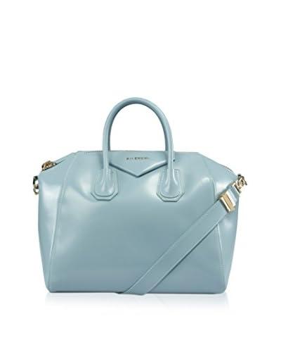Givenchy Women's Antigona Satchel Bag, Sky Blue, Medium