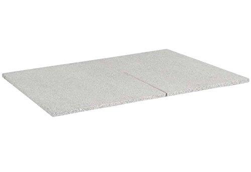 """SonnenPartner Tischplatte """"Granit""""grau-weiß 90 x 90 made by Müsing günstig bestellen"""