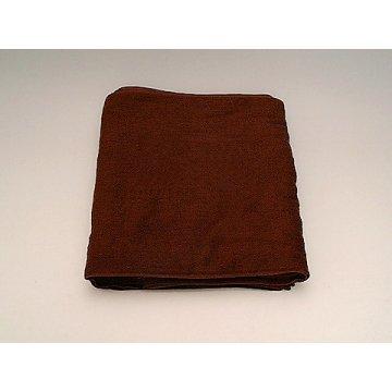スレン染 タオル240匁 サイズ32×84cm。茶色 12枚入