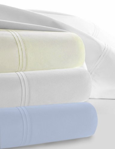 Egyptian Cotton Percale Sheet Set 450 Thread Count 22 Inch Deep Pocket Sheet Set King Bone front-757547