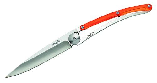 Deejo Linerlock Orange 27Gram Knife