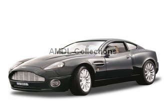 Gold Collezione, Aston Martin V12 Vanquish Black 1:18 Bburago Diecast Car Model