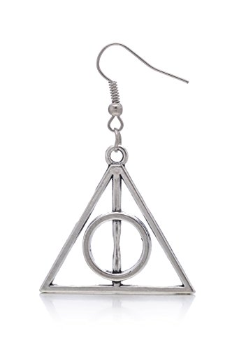 [LOOMEN Harry Potter Themed Collection (Deathly Hallows Earrings)] (Dolores Umbridge Costume)
