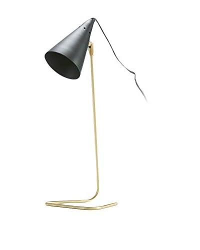 Natura Accet Lámpara De Mesa Dorado/Negro