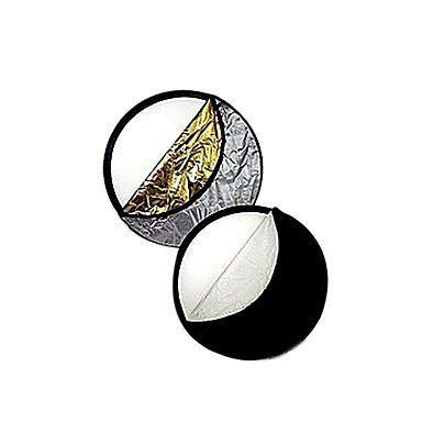 """Jajay 32"""" 80Cm 5-In-1 Studio Light Collapsible Disc Reflector (Cca295)"""