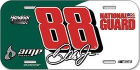 Dale Earnhardt Jr. #88 License Plate by Unknown