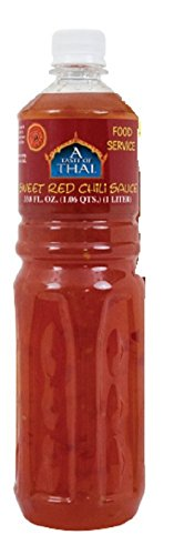 A Taste of Thai Sweet Red Chili Sauce, 1 L Bottle (Sweet Chili Thai Sauce compare prices)