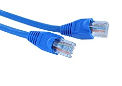 Krown Ethernet Patch Cord CAT6 RJ45 Lan Straight 15 Mtr Cable