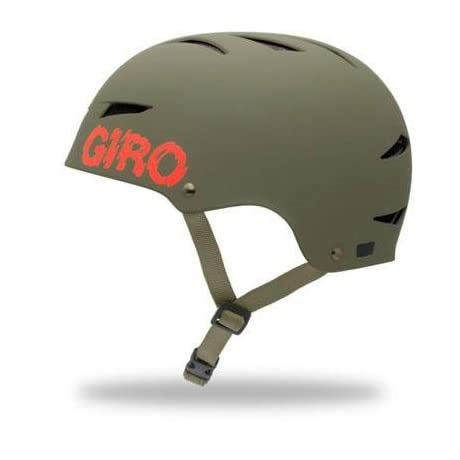 Giro 2013 Flak Mountain Cycling Helmet (Matte Olive Swat - M)