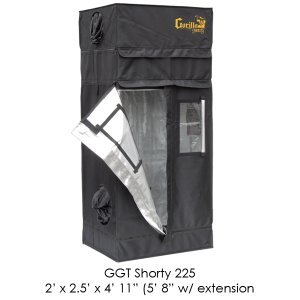 Gorilla Grow Tent Shorty 2x2.5
