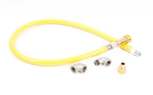 T&S Brass HG-4C-48 Gas Hose with Quick Disconnect