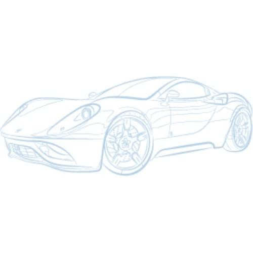Modern Two-Door Lotus Sketch Vinyl Sheet, Matte Powder Blue, 7 ft. discount price 2015
