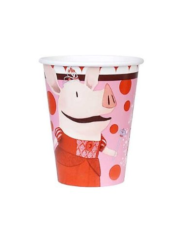 Olivia Party Supplies 9oz Paper Cups - 8 Each - 1