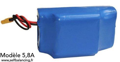 Batterie Française 36V 5,8A-209W/h pour gyropode , hoverboard, skate électrique,testée et identifiée