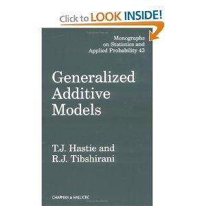 Generalized Additive Models byTibshirani (Generalized Additive Models compare prices)