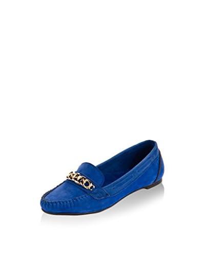 SOHO Mocasines Clásicos Azul