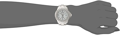 August Steiner Women's AS8156SS Silver-Tone Japanese Quartz Watch bodyton сыворотка для лица антикупероз 8мл