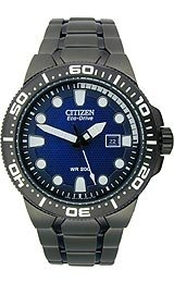 "Citizen Men's BN0090-52E Eco-Drive ""Scuba Fin"" Stainless Steel Diver Watch"