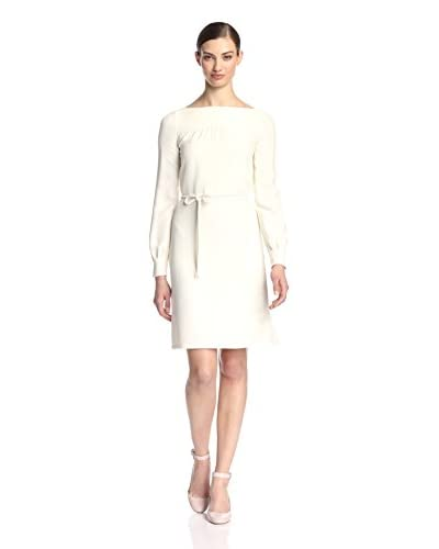 Valentino Women's Belted Dress  [Ivory]