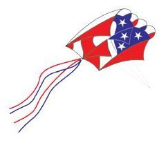 Parafoil 5 Kite - Patriotic by Premier Kites