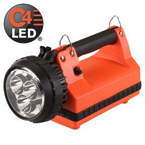 The Rugged Streamlight E-Spot LiteBox Rechargeable lantern features powerful C4 LED technology