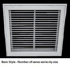 6 30 X 14 Duct Opening Size Air Return Filter Grille