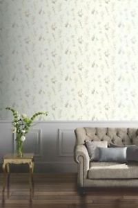 Opera Botanical Wallpaper - Neutral by New A-Brend
