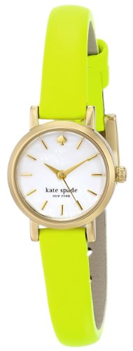 "kate spade new york Women's 1YRU0369 ""Tiny Metro"" Yellow Watch"