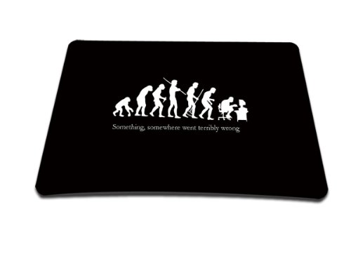 luxburgr-design-tappetino-mouse-mousepad-motivo-evoluzione-nerd