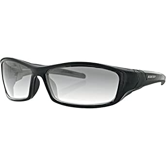 Bobster Hooligan Sunglasses with Black Frame and Photochromic Lenses BHOO101
