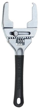 Superior Tool 03840 Adjustable Combination Wrench