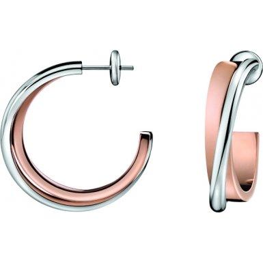 Calvin Klein Damen-Ohrringe Coil KJ63BE010100 als Geschenk