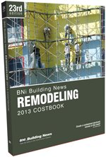 BNI Remodeling Costbook 2013 - BNI Publications - BN-Remodeling - ISBN: 1557017670 - ISBN-13: 9781557017673